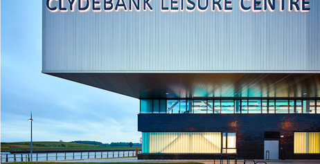 Clydebank Leisure Centre shortlisted for the RIAS Andrew Doolan Best Building in Scotland