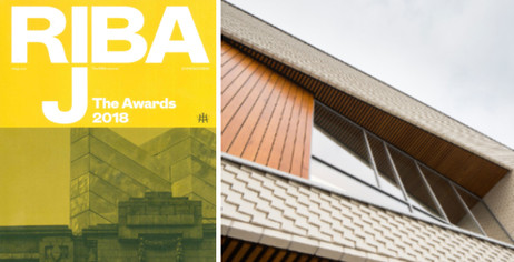Newry Leisure Centre features in the latest edition of the RIBA Journal – The Awards 2018.