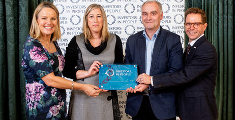 Kennedy FitzGerald celebrates Investors in People accreditation